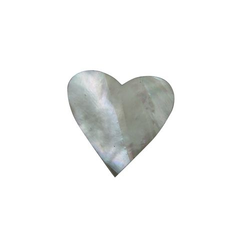 SHAPE PEARL - HEART LARGE [35MM] (DOZ)
