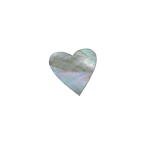 SHAPE PEARL - HEART MEDIUM [25MM] (DOZ)