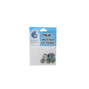 SHELL DISC - PAUA - 12MM (8PCS)