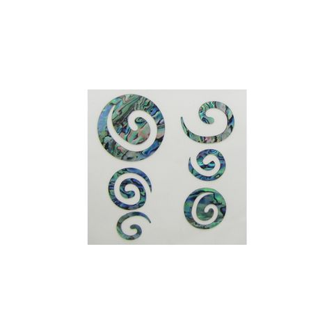 THEME PAUA - KORU (6PCS)