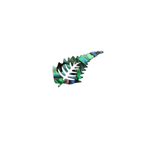 SHAPE PAUA - FERN SMALL [30MMH] (DOZ)