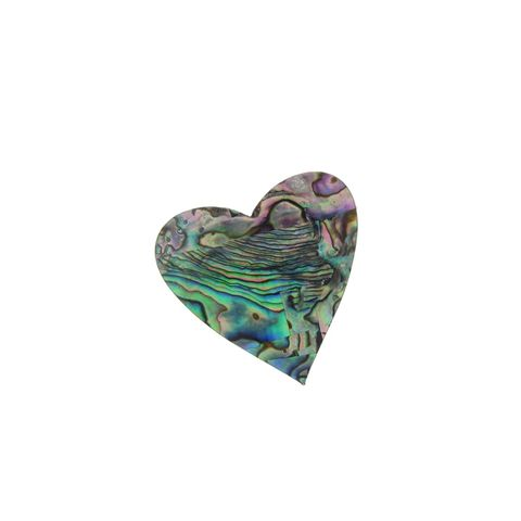 SHAPE PAUA - HEART LARGE [35MM] (DOZ)