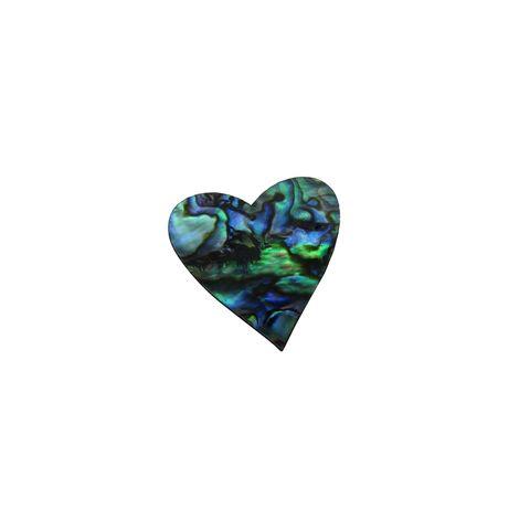SHAPE PAUA - HEART MEDIUM [25MM] (DOZ)