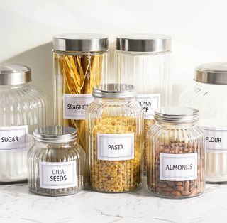 Glass Food Canisters