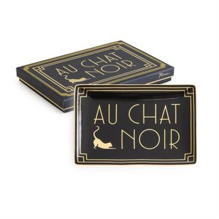 Jazz Age, Tray Au Chat Noir 11 x 16cm