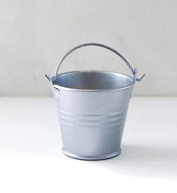 Tin Pail, Silver x 20