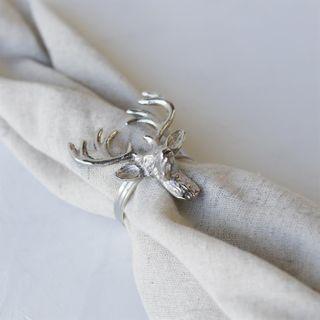 Elk, Napkin Ring