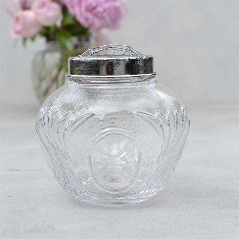Flower Globe Small, Clear