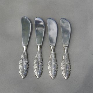 Feather Spreader, Silver