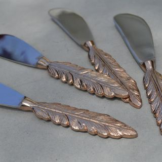 Feather Spreader, Rose Gold
