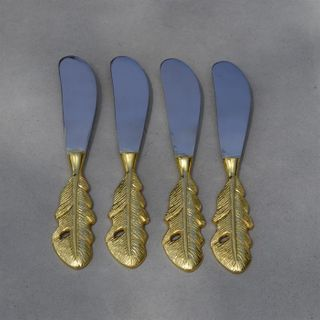 Feather Spreader, Gold