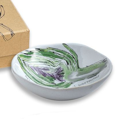 Farm to Table Dipping Dishes (Artichoke) S/4