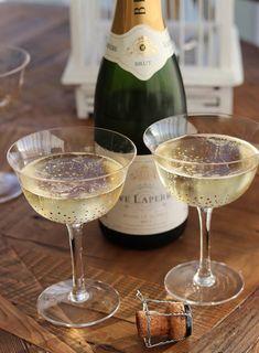 Confetti, Champagne Saucer, Set of 4
