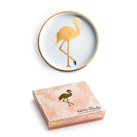Patio Party, Flamingo Wine Coaster (min. 4)