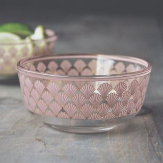 Patina Vie, Naples Bowl, Blush