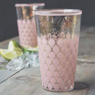 Patina Vie, Naples Highball Glass, Blush