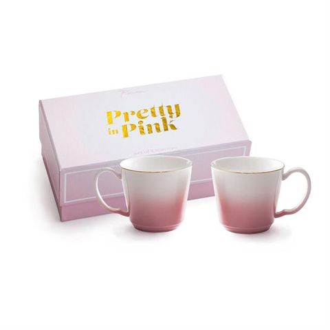 Pretty in Pink, Teacup set of 2