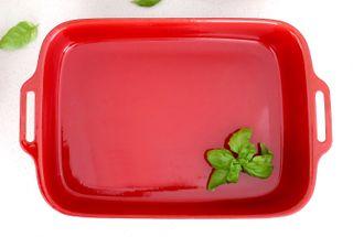 Red Enamel 33cm Lasagne Pan