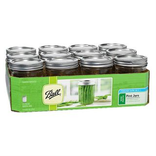 Ball Mason Jar - Wide Mouth Pint 480ml/16oz