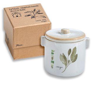 Farm to Table Herb Jar (Sage)
