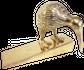 Brass Kiwi Doorstop