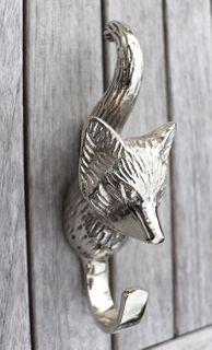 Fox Hook, silver