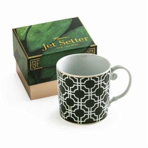 Jet Setter, Geometric Mug