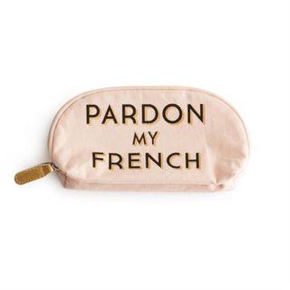 Jazz Age, Cosmetic Bag Pardon My French