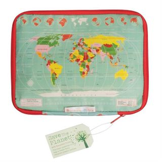 Tablet Case, World Map (min. 4)