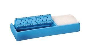 ENDO CLEANER BLUE RECT W SQUARE SPONGE