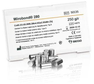WIROBOND 280 NON PRECIOUS ALLOY 250GM