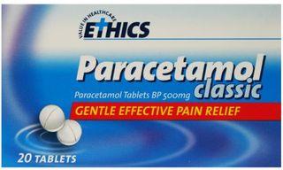 PARACETAMOL TABLETS PA02148 PKT 20