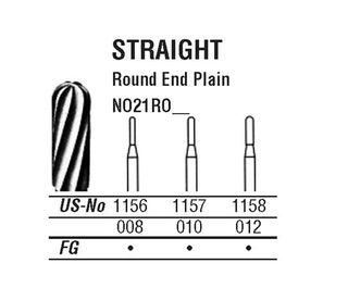 21R-012 1158 CARBIDE FG NORTHBEL BURS /5
