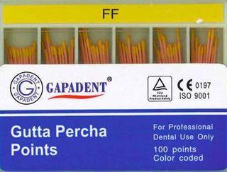 GUTTA PERCHA POINTS FF ACCESSORY BOX 120