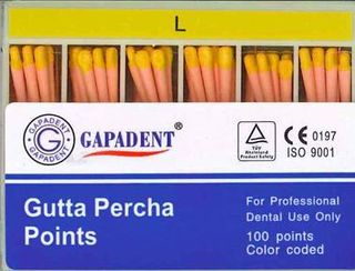 GUTTA PERCHA POINTS L ACCESSORY BOX 100