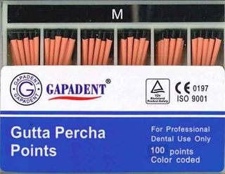 GUTTA PERCHA POINTS M ACCESSORY BOX 100