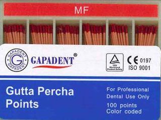 GUTTA PERCHA POINTS MF ACCESSORY BOX 120