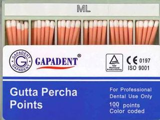 GUTTA PERCHA POINTS ML ACCESSORY BOX 100