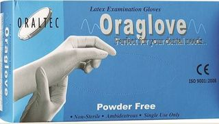ORAGLOVES LATEX PFREE MEDIUM /100