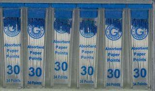 PAPER POINTS CC 30 VIAL/34