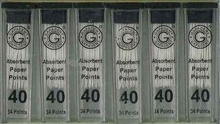 PAPER POINTS CC 40 VIAL/34