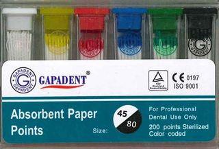 PAPER POINTS CC 45-80 BOX/200