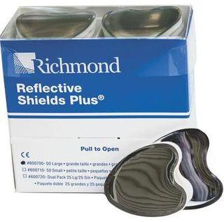 REFLECTIVE SHIELDS PLUS LARGE PKT 50