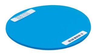 BIOPLAST BLUE TRANS 125MM ROUND 3MM /10