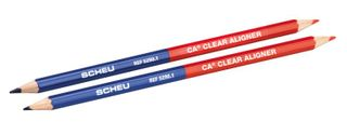CA COLOURED PENCILS FOR MODELS RED/BLUE