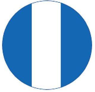 M/GUARD RD 4MM BLUE/WHITE 3 STRIPE 120MM