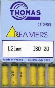 REAMERS 21MM 20 / 6