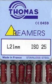 REAMERS 21MM 25 / 6