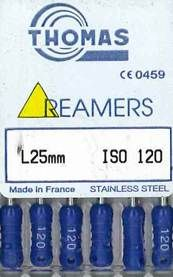 REAMERS 25MM 120/6
