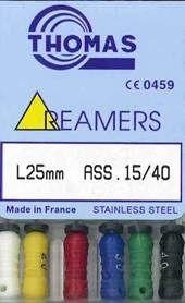 REAMERS 25MM 15-40 ASST